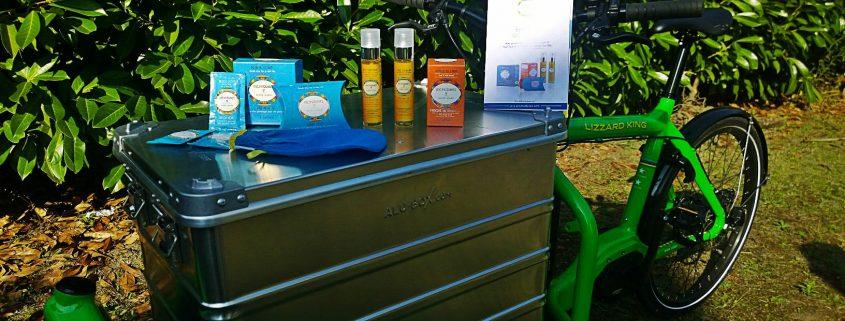 Aromadunes s'associe au Rayon Vert pour une livraison écolo de ses produits naturels sur Orléans