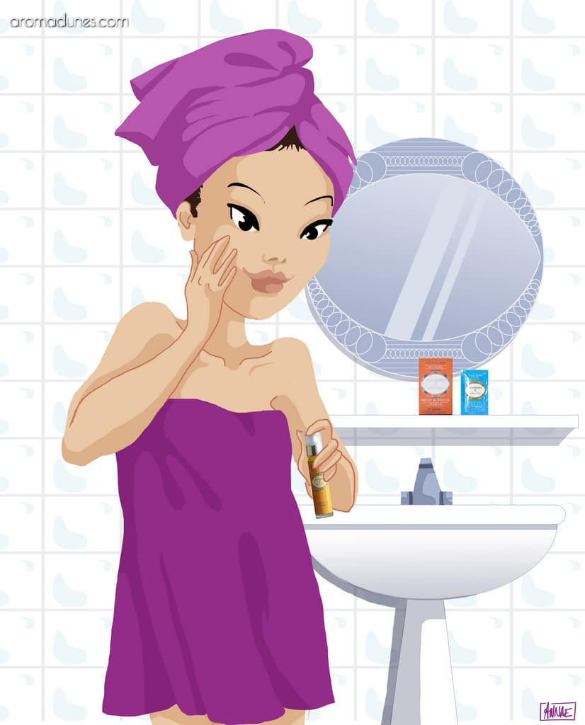Hydratez votre visage avec une huile bio Aromadunes